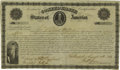 Confederate Notes:Group Lots, Ball 18D Cr. 9 $2000 1861 Bond Very Fine. The denomination ishand-written for this popular, but scarce issue that has a Ben...