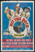 "Movie Posters:Musical Comedy, Hit the Deck (MGM, 1955). One Sheet (27"" X 41""). Musical Comedy. Starring Jane Powell, Tony Martin, Debbie Reynolds, Walter ..."