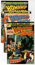 Bronze Age (1970-1979):Humor, Howard the Duck Group (Marvel, 1976-86) Condition: AverageVF/NM.... (Total: 33)