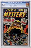 Silver Age (1956-1969):Horror, Journey Into Mystery #68 (Marvel, 1961) CGC FN+ 6.5 Off-whitepages....