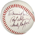 Autographs:Baseballs, Sandy Koufax Single Signed Baseball. The offered ONL (Feeney)baseball sports a neat Hall of Fame signature courtesy of le...