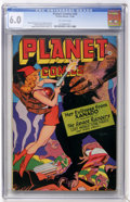Golden Age (1938-1955):Science Fiction, Planet Comics #45 (Fiction House, 1946) CGC FN 6.0 Off-whitepages.... (Total: 0)