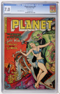 Golden Age (1938-1955):Science Fiction, Planet Comics #67 (Fiction House, 1952) CGC FN/VF 7.0 Off-white pages....