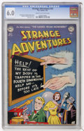 Golden Age (1938-1955):Science Fiction, Strange Adventures #22 (DC, 1952) CGC FN 6.0 Cream to off-whitepages....