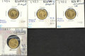 Binder Lots--Gold: , Multiple Coin Lot...