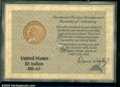 Additional Certified Coins: , 1909 $5