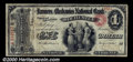 National Bank Notes:New York, Farmers and Mechanics National Bank of Rochester, NY, Charter #...