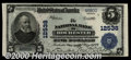 National Bank Notes:New York, National Bank of Rochester, NY, Charter #12538. 1902 $5 Third...