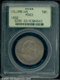 Commemorative Silver: , COLUMBIAN 50C 1892