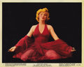"""Movie Posters:Romance, The Prince and the Showgirl (Warner Brothers, 1957). Color Stills (2) (8"""" X 10"""").... (Total: 2 Items)"""