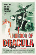 "Movie Posters:Horror, Horror of Dracula (Universal International, 1958). One Sheet (27"" X41"")...."