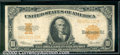 Large Size Gold Certificates:Large Size, 1922 $10 Gold Certificate, Fr-1173, Fine. The note has been fla...