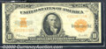 Large Size Gold Certificates:Large Size, 1922 $10 Gold Certificate, Fr-1173, VF. The note is crisp and c...