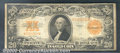 Large Size Gold Certificates:Large Size, 1922 $20 Gold Certificate, Fr-1187, Fine. Good color but light ...