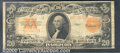 Large Size Gold Certificates:Large Size, 1922 $20 Gold Certificate, Fr-1187, Fine-VF. The paper has good...