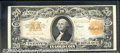 Large Size Gold Certificates:Large Size, 1922 $20 Gold Certificate, Fr-1187, XF. Great color and outstan...