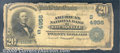 National Bank Notes:Kentucky, American National Bank of Louisville, KY, Charter #4956. 1902 $...