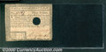Colonial Notes:Massachusetts, May 5, 1780, $3, Massachusetts, MA-280, Hole cancelled, VF. A b...