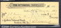 Miscellaneous:Checks, $25.50 Check, Ferd. Ritterbusch, Treasurer Logan Co, O.T., 5/20...