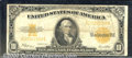 Large Size Gold Certificates:Large Size, 1922 $10 Gold Certificate, Fr-1173, VG-Fine. Toward the higher ...