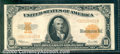 Large Size Gold Certificates:Large Size, 1922 $10 Gold Certificate, Fr-1173, VF. Clean, crisp, and brigh...
