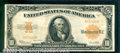 Large Size Gold Certificates:Large Size, 1922 $10 Gold Certificate (Small Serial Numbers), Fr-1173a, VF....