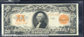 Large Size Gold Certificates:Large Size, 1922 $20 Gold Certificate, Fr-1187, VF-XF. A superb note that i...
