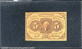 Fractional Currency: , 1862-1863 5c First Issue, Jefferson, Fr-1230, Choice CU. 1862-1...