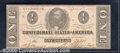Confederate Notes:1863 Issues, 1863 $1 Clement C. Clay, T-62, XF. This note has great eye appe...