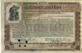 Stocks, Bonds And Checks: , Baltimore and Ohio Railroad Stock, 1901, Brown-Black. This stoc...