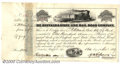 Stocks, Bonds And Checks: , Buffalo and State Line Railroad Company, Stock, 1859, Black. Da...