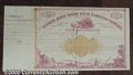 Stocks, Bonds And Checks: , Alton and Terre Haute Railroad Company, St. Louis, Stock, 1873,...
