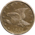 Patterns: , 1855 P1C Flying Eagle Cent, Judd-168 Original, Pollock-193, R.4, PR65 Red and Brown PCGS. Thirteen stars surround an eagle ...
