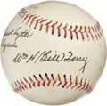 Autographs:Baseballs, Bill Terry Single Signed Baseball. You'd be hard-pressed to find abetter application of Bill Terry's Hall of Fame signatur...