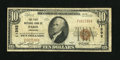National Bank Notes:Arkansas, Paris, AR - $10 1929 Ty. 1 The First NB Ch. # 11592. Lewis C. Sadler and L.B. Crenshaw managed this bank until August 15...