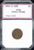 Additional Certified Coins: , 1909-S 1C VDB, BN