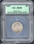 Additional Certified Coins: , 1897 5C