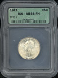 Additional Certified Coins: , 1917 25C TYPE 1, FH