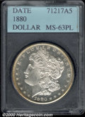 Additional Certified Coins: , 1880 S$1, PL
