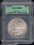 Additional Certified Coins: , 1883-S S$1