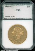 Additional Certified Coins: , 1889-CC $20