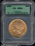 Additional Certified Coins: , 1895 $20