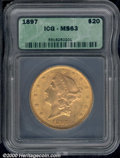 Additional Certified Coins: , 1897 $20