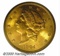 Additional Certified Coins: , 1904 $20