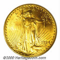 Additional Certified Coins: , 1924 $20