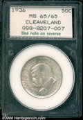 Additional Certified Coins: , CLEVELAND 50C
