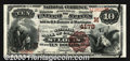 National Bank Notes:Missouri, National Bank of Commerce in St. Louis, MO, Charter #4178. 18...