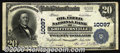 National Bank Notes:West Virginia, Oil Field National Bank of Griffithsville, WV, Charter #10097...