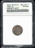 Early Half Dimes: , 1803 H10C