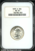 Washington Quarters: , 1935-D 25C